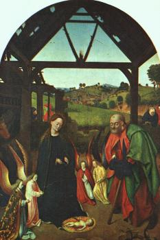 Petrus Christus : The Nativity